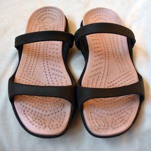 CROCS Shoes - Croc Brown Sandals